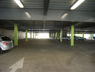 Concrete car park