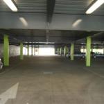 Concrete car park